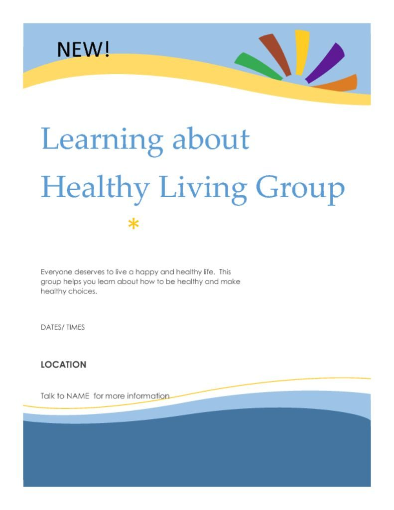 thumbnail of Healthy living flyer[1]