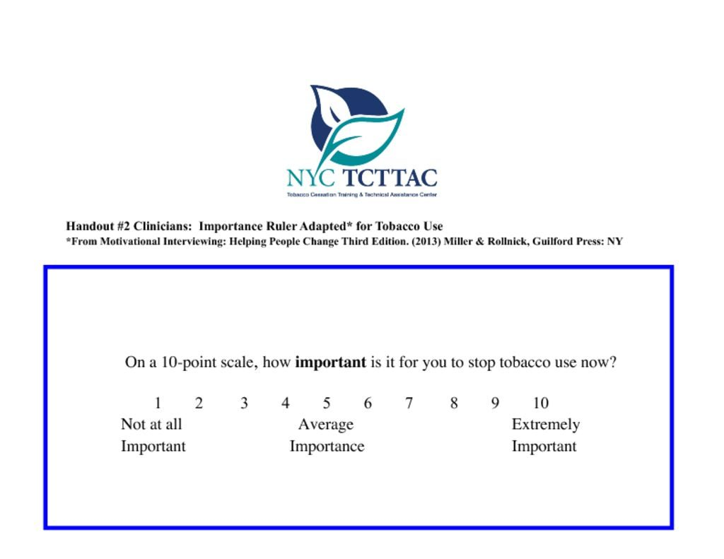 thumbnail of NYC TCTTAC Clinical Training MI Handout 2